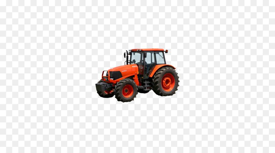 Dessin animé tracteur ferme