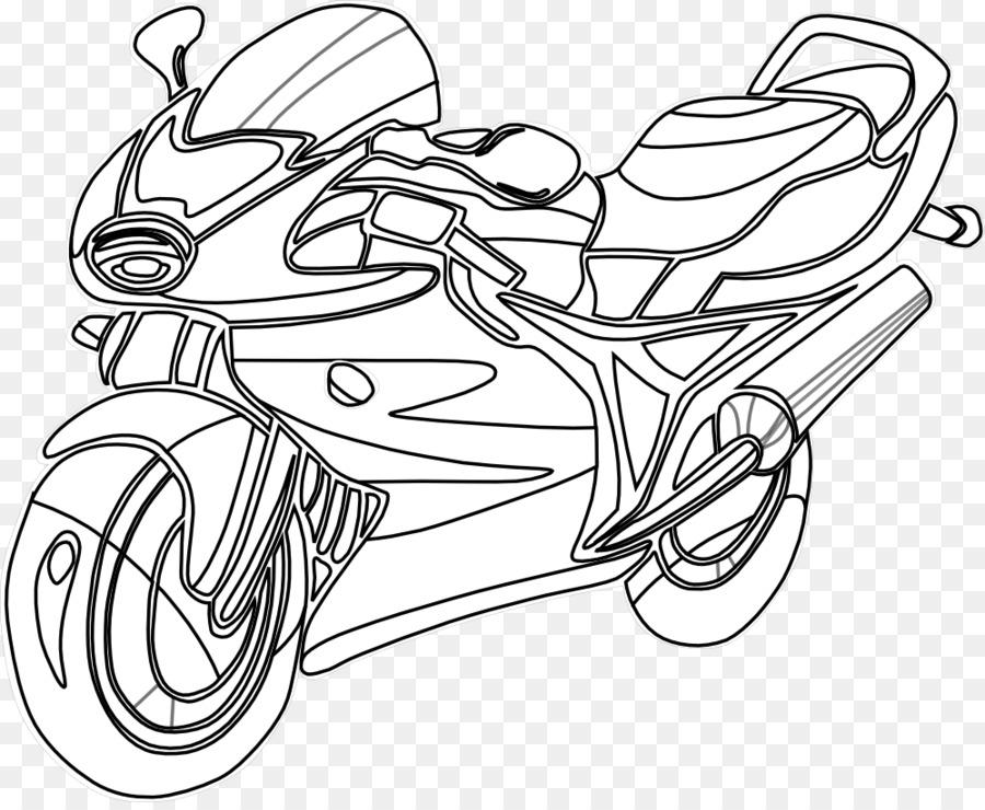 Moto Livre De Coloriage Motocyclette De La Police Png Moto Livre De Coloriage Motocyclette De La Police Transparentes Png Gratuit