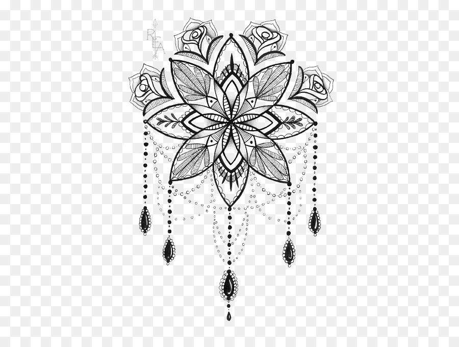 Tatouage Mandala Dessin Png Tatouage Mandala Dessin