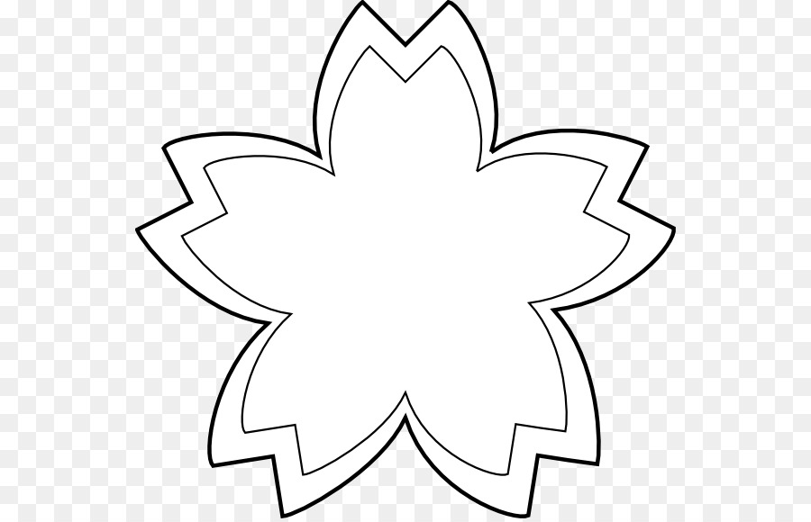 Fleur Noir Et Blanc Dessin
