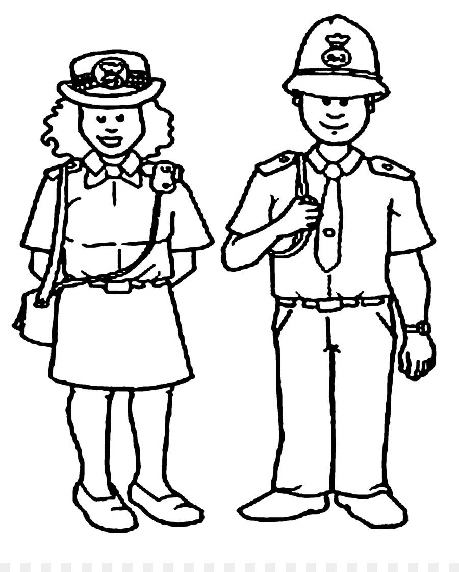 Policier Livre De Coloriage La Police Png Policier Livre De Coloriage La Police Transparentes Png Gratuit
