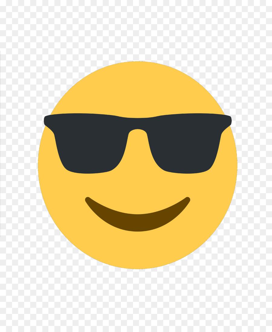 Papiers peints: Smiley avec des lunettes de soleil