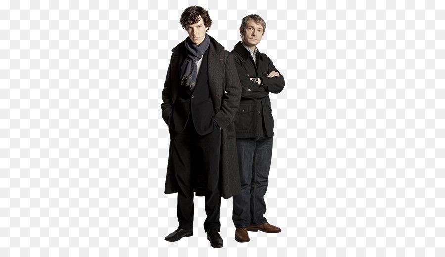 Sherlock Holmes Homme Cape Manteau en Laine Cosplay Costume