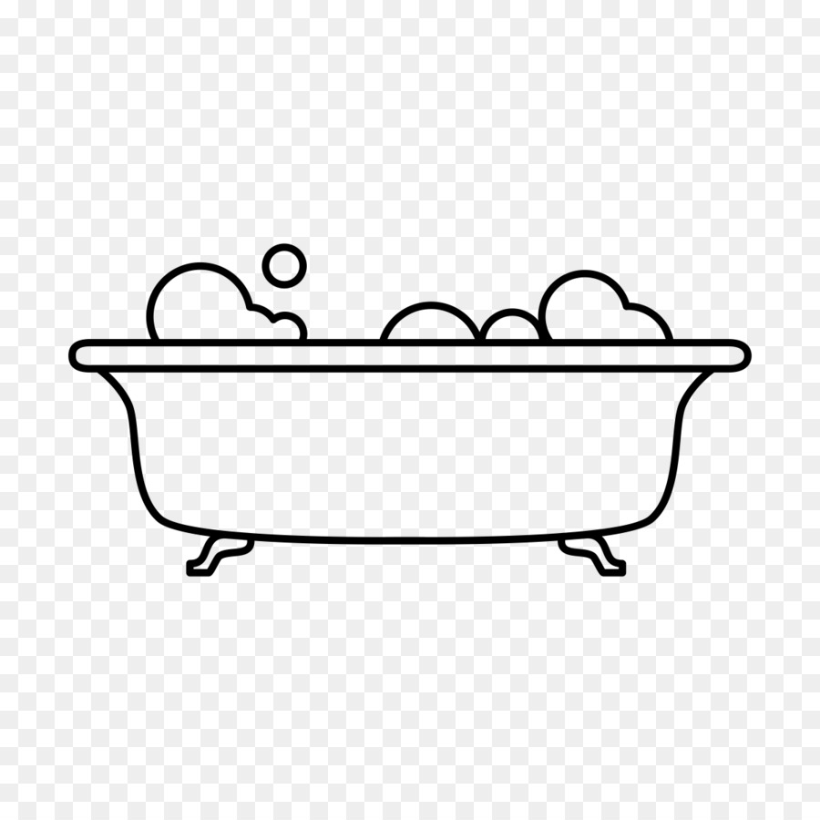 Dessin Salle De Bain baignoire, dessin, salle de bain png - baignoire, dessin