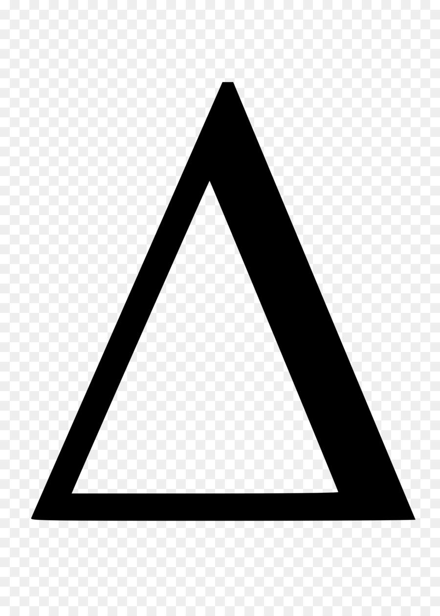 Δ | greek capital letter delta | Times New Roman, Regular ... |Greek Delta Symbol