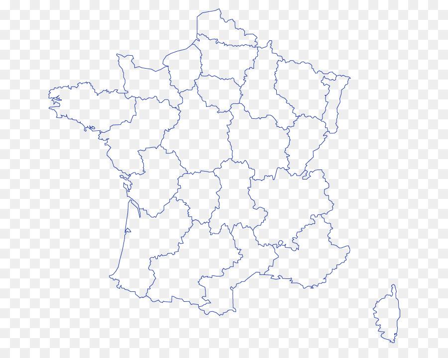 Carte Carte Vierge Les Regions De France Png Carte Carte Vierge Les Regions De France Transparentes Png Gratuit