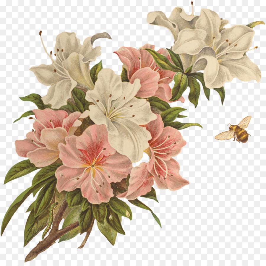 Vintage Flower Clip Art