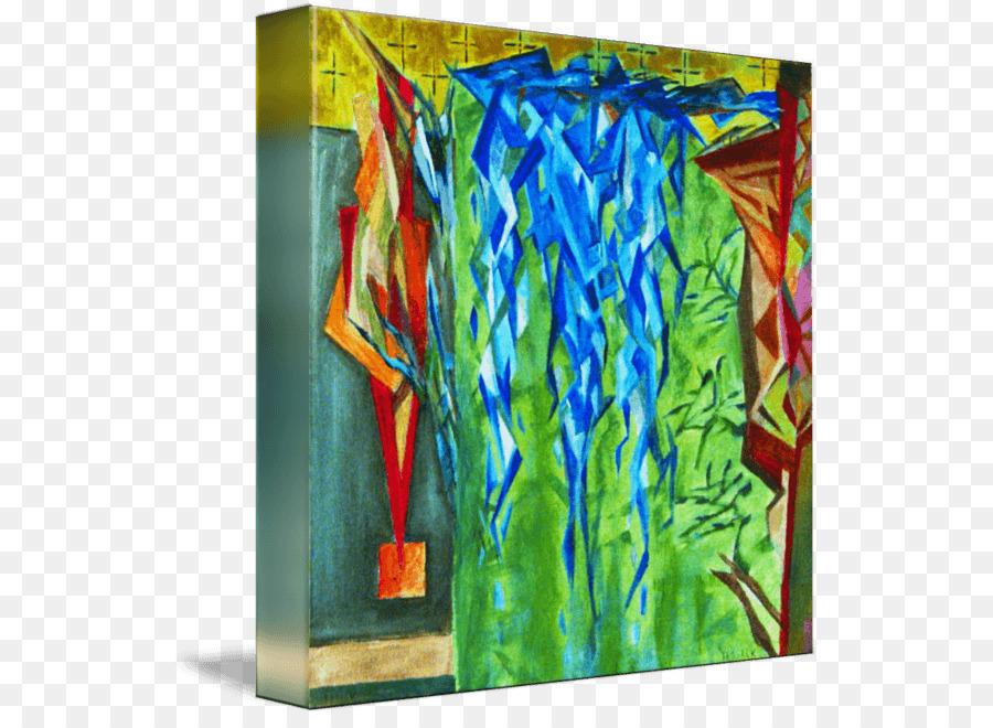 Peinture Acrylique Bleu Majorelle Jardin Majorelle Png