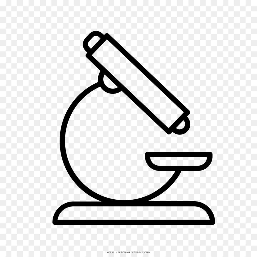 Dessin, Microscope, Livre De Coloriage PNG   Dessin, Microscope ...