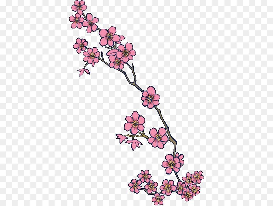Fleur De Cerisier Fleur Tatouage Png Fleur De Cerisier Fleur Tatouage Transparentes Png Gratuit