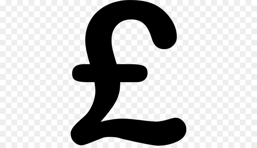 Signe Diese La Livre Sterling Symbole De Devise Png