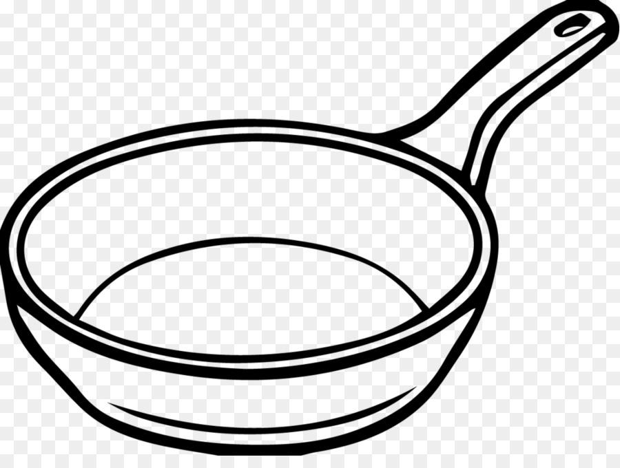 Ustensiles De Cuisine Poêle à Frire Dessin Png
