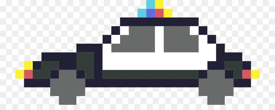 Voiture Le Pixel Art Voiture De Police