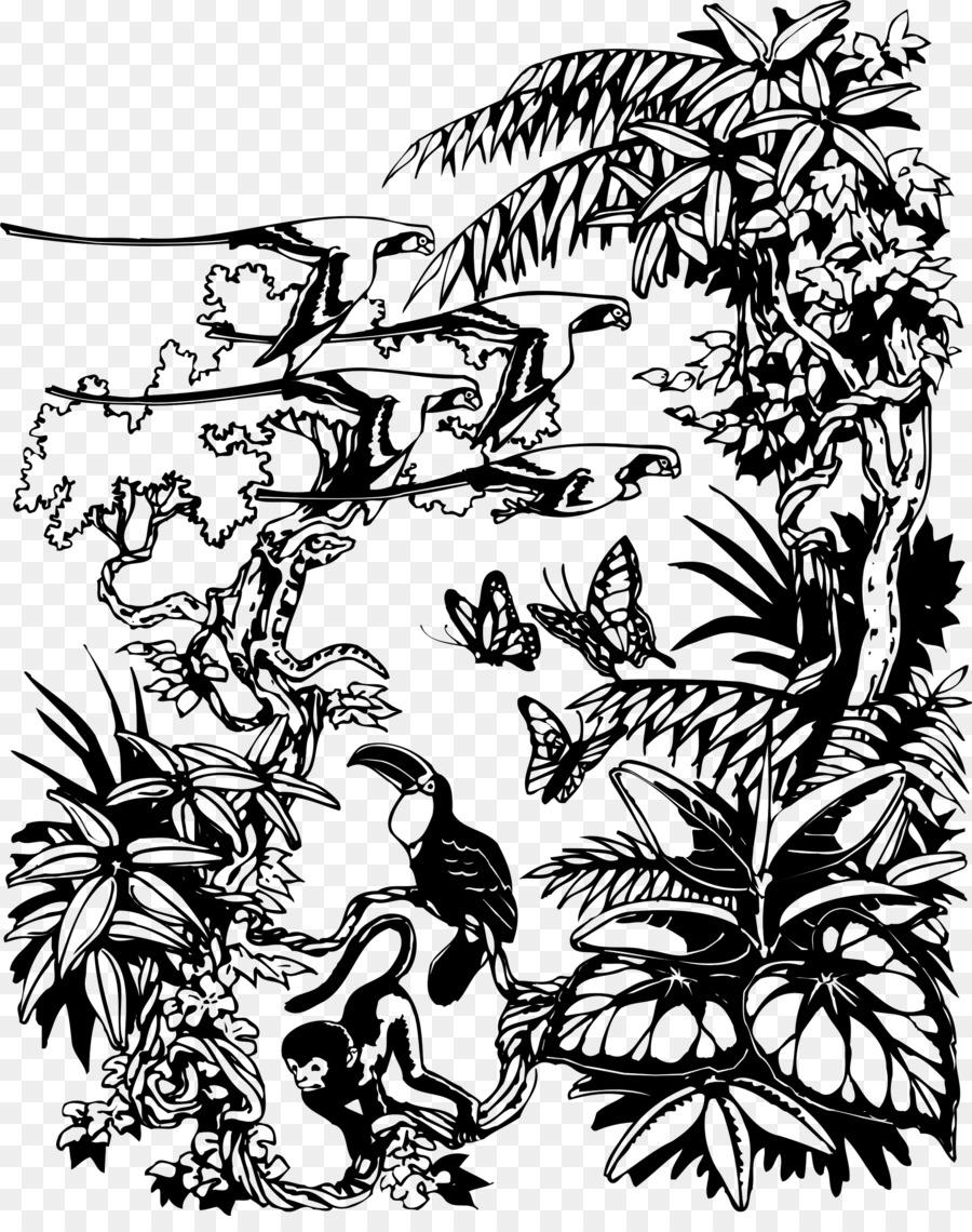 Le Livre De La Jungle Dessin Arts Visuels