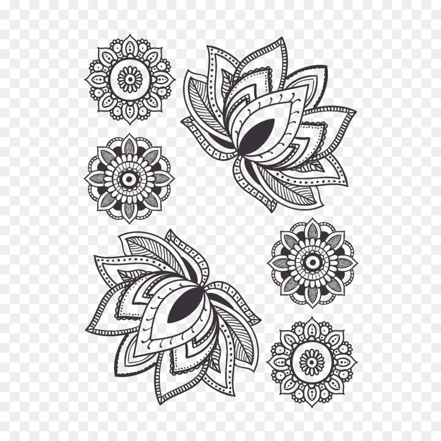 Mandala, Nénuphar, Tatouage PNG - Mandala, Nénuphar, Tatouage transparentes | PNG gratuit