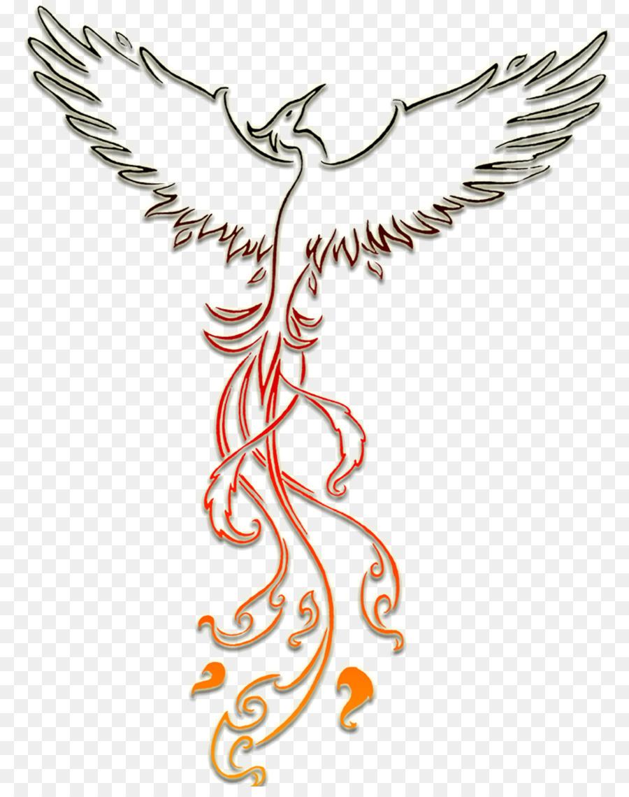 Phoenix Tatouage Dessin
