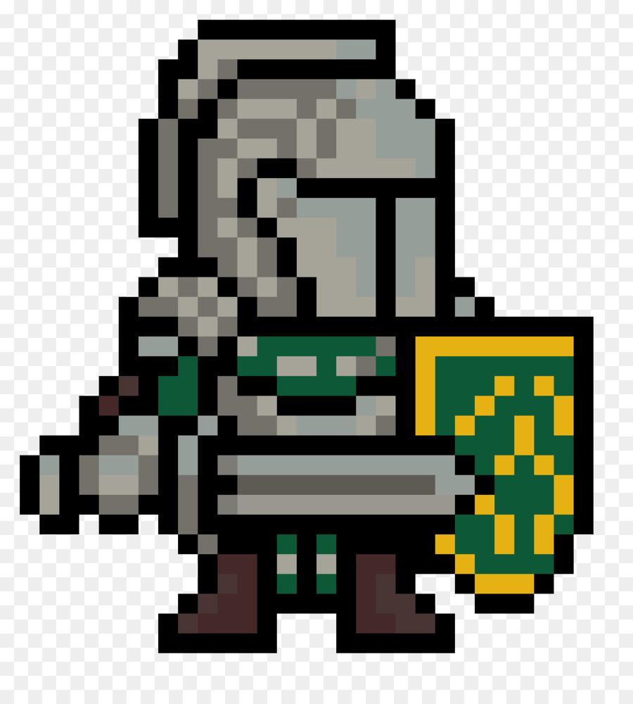 Chevalier Le Pixel Art Lart Png Chevalier Le Pixel Art