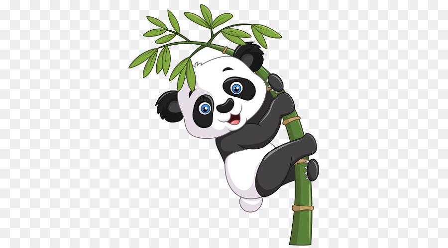 Panda Géant Bambou Dessin Png Panda Géant Bambou