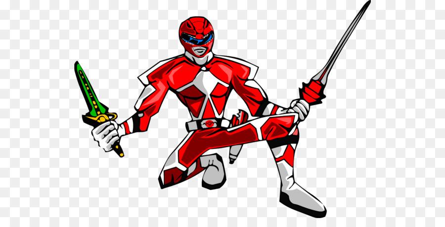 Ranger Rouge Power Rangers Dessin Animé Png Ranger Rouge