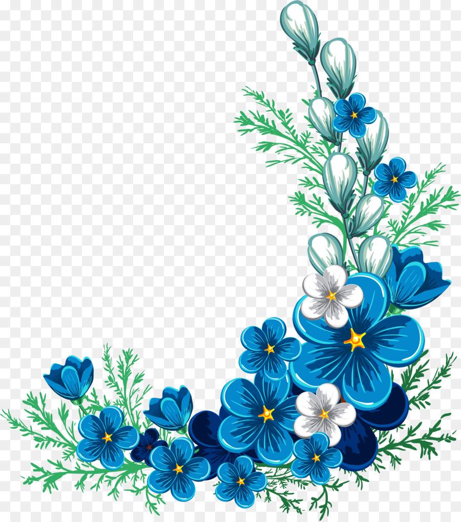 Bordures Décoratives Les Frontières Et Les Cadres Fleur